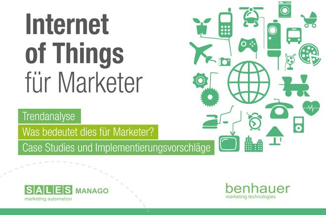 Internet of Things für Marketer [KOSTENLOSES E-BOOK]