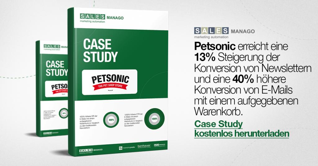 Wie erreicht man eine 13% Steigerung der Konversion von Newslettern und eine 40% höhere Konversion von E-Mails mit einem aufgegebenen Warenkorb [Case Study Petsonic]