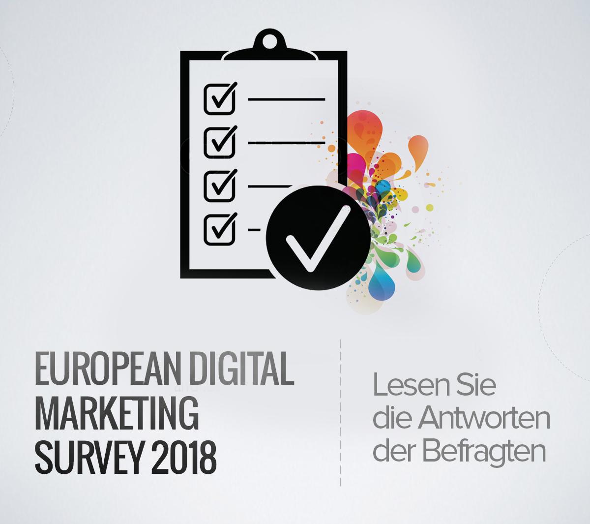 60% der Vermarkter würden sich bei der Auswahl eines neuen Jobs nicht für das Marketing entscheiden (European Digital Marketing Survey 2018)
