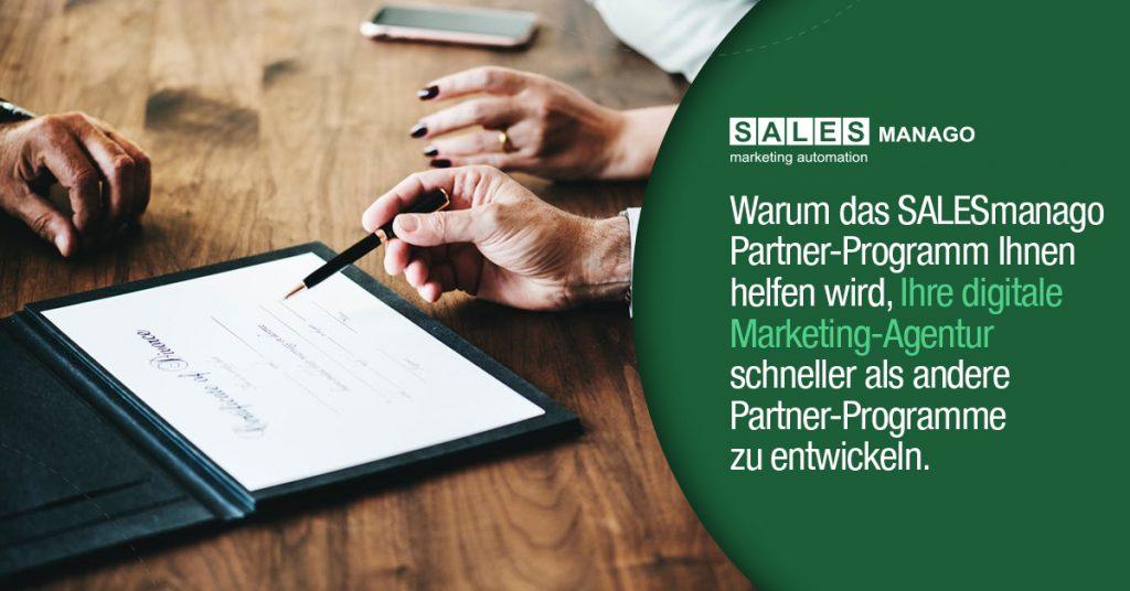 Warum das SALESmanago Partner-Programm Ihnen helfen wird, Ihre digitale Marketing-Agentur schneller als andere Partner-Programme zu entwickeln