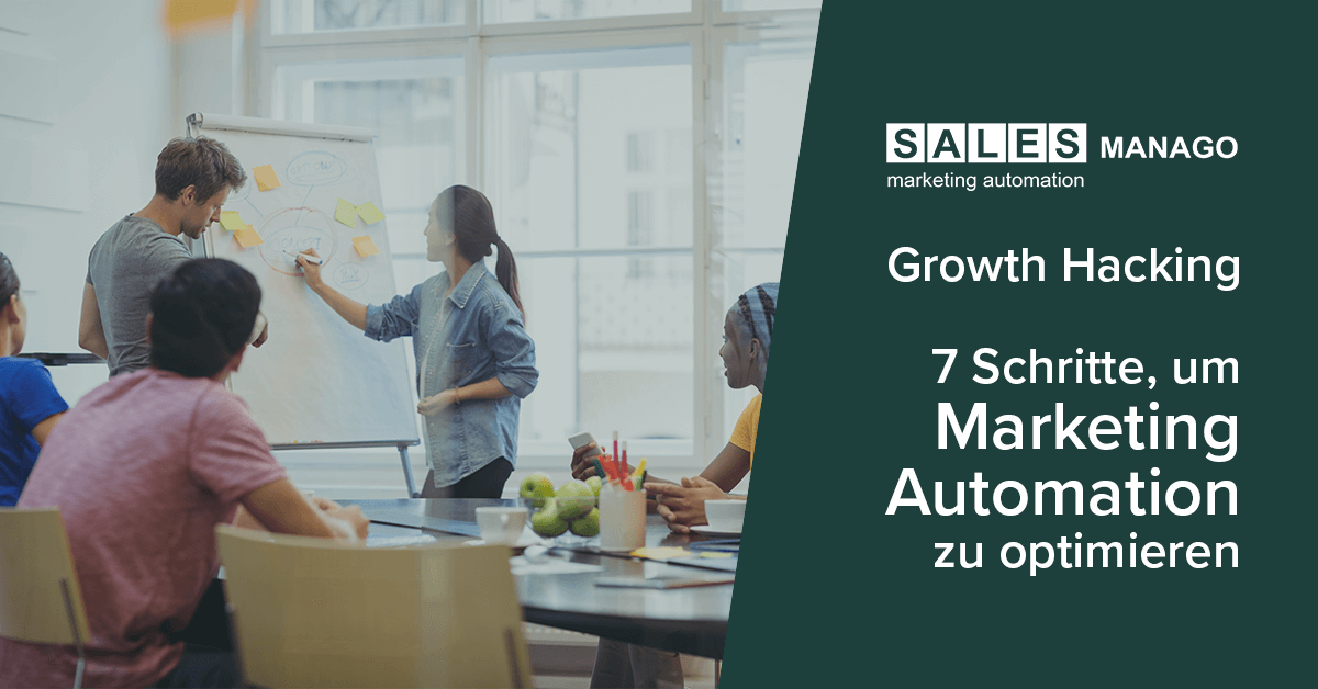 Optimieren Sie Marketing Automation in 7 Schritten mit SALESmanago Growth Hacking! [INFOGRAFIK]