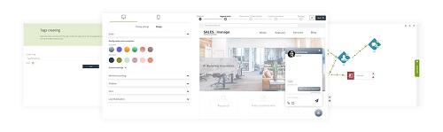 [Neue Funktionalität] SALESmanago Live Chat wird zu einer Unternehmenslösung mit erweiterten Funktionen, die auf künstlicher Intelligenz für großen E-Commerce basieren